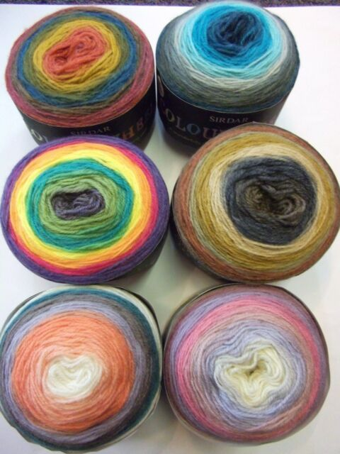WENDY TRADITIONAL ARAN 100/% PURE WOOL 1X500G BALL KNITTING WOOL VARIOUS COLOURS