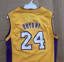 Boys ADIDAS Kobe Bryant Lakers NBA jersey M top shoes shirt kids hat FREESHIPPIN