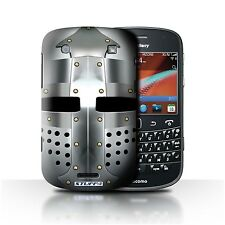 STUFF4 Back Case/Cover/Skin for Blackberry Bold 9900/Knight Armour
