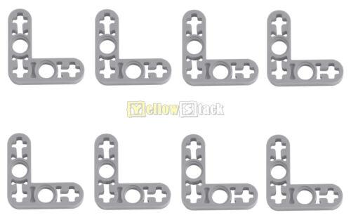 8x lego ® Technic 32056 L-liftarm 3 x 3 nuevo-gris claro delgado nuevo Thin L-Shape