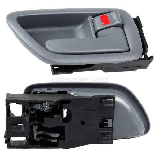 For 2004-2006 Toyota Tundra Both 2 Gray Interior Front Left Right Door Handle