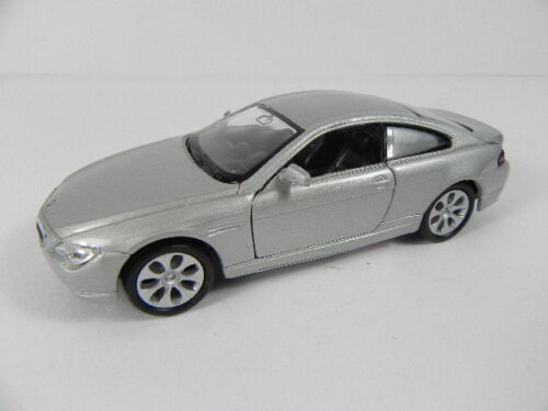 BMW 645 CI silber,1:36 Modellauto 11 cm,NEU