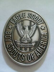 BOY-SCOUTS-OF-AMERICA-EAGLE-SCOUT-BSA-ENGRAVABLE-2-039-NICKEL-CHALLENGE-COIN