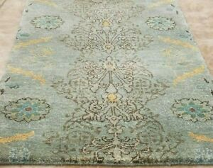 3-039-X-2-039-SELECT-HAND-KNOTTED-TURKISH-OUSHAK-GABEH-TRIBAL-VINTAGE-WOOL-DURABLE-RUG