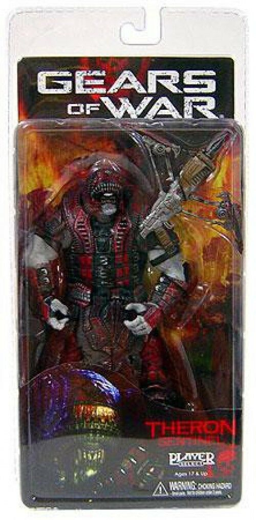 Neca gears of war - serie 2 theron sentinel - action - figur