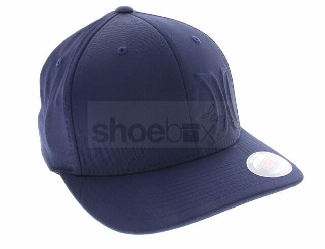 ireland hurley mens s m hermosa 2.0 navy blue flex fit surf hat baseball  cap mha0007970 17f3f f462bf94f61