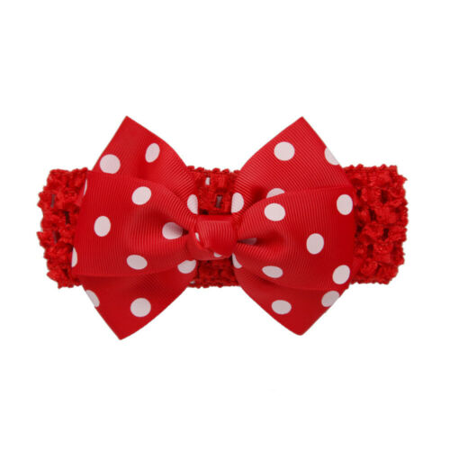 Fashion Girls Wave Headbands Bowknot Hair Accessories For Girls Infant Hair Band