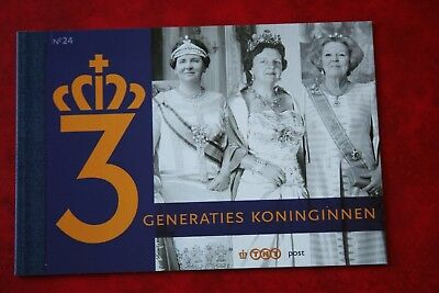 Niederlande & Kolonien Niederlande 2009 Prestige Markenheft Pr24 3 Generation KÖniginnen Mnh ** Einen Einzigartigen Nationalen Stil Haben
