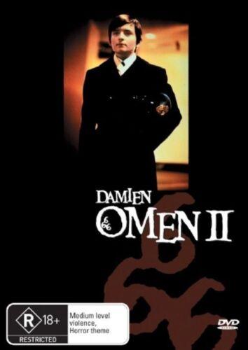 1 of 1 - The Omen 2 - Damien - DVD LIKE NEW FREE POSTAGE AUS REGION 4
