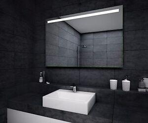 eco badspiegel mit led beleuchtung wandspiegel badezimmerspiegel nach ma ebay. Black Bedroom Furniture Sets. Home Design Ideas