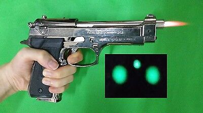 M92F shaped Lighter windproof costume prop cosplay toy gun beretta M9 PAMAS-G1