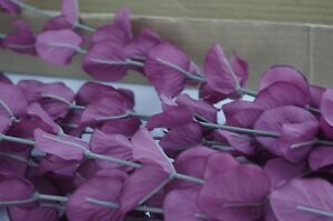 VTG Purple Eucalyptus Greenry Stems Filler Home Interiors & Gifts NIB Item 6615