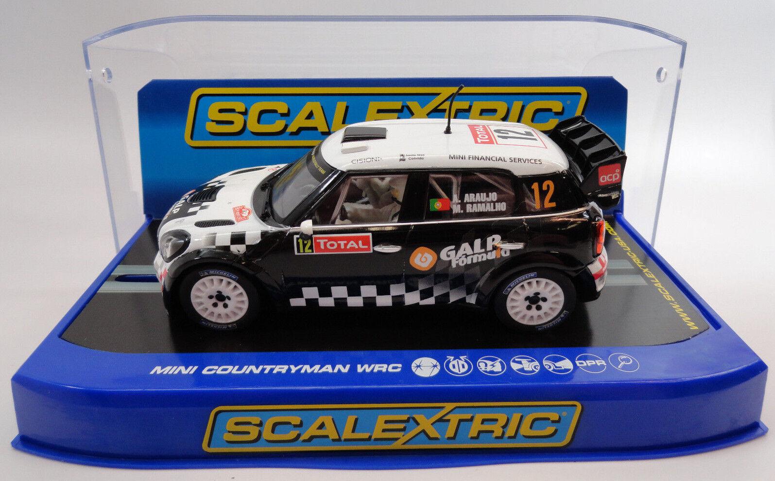 Scalextric  Galp  Mini Countryman WRC DPR W  Lights 1 32 Slot Car C3385