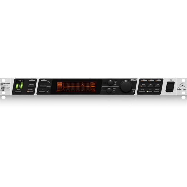 Behringer Ultracurve DEQ2496 Equalizer Feedback Eliminator Mastering Processor
