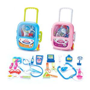 Детская, для детей ролевая игра доктор медсестры игрушка медицинский набор подарок жесткий чехол