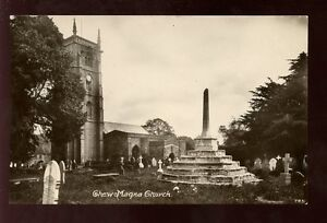 Somerset-CHEW-MAGNA-Church-RP-PPC-local-Pub-Milton-mailed-from-1924-post-mark