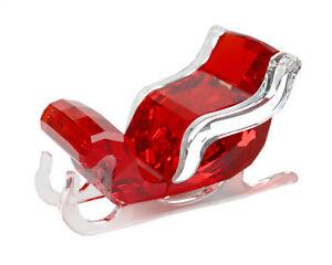 Swarovski-vidrio-personaje-decoracion-trineo-Santa-039-s-Sleigh-navidad-5223691