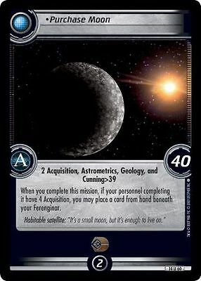 Star Trek CCG 2E What You Leave Behind Purchase Moon 14U60