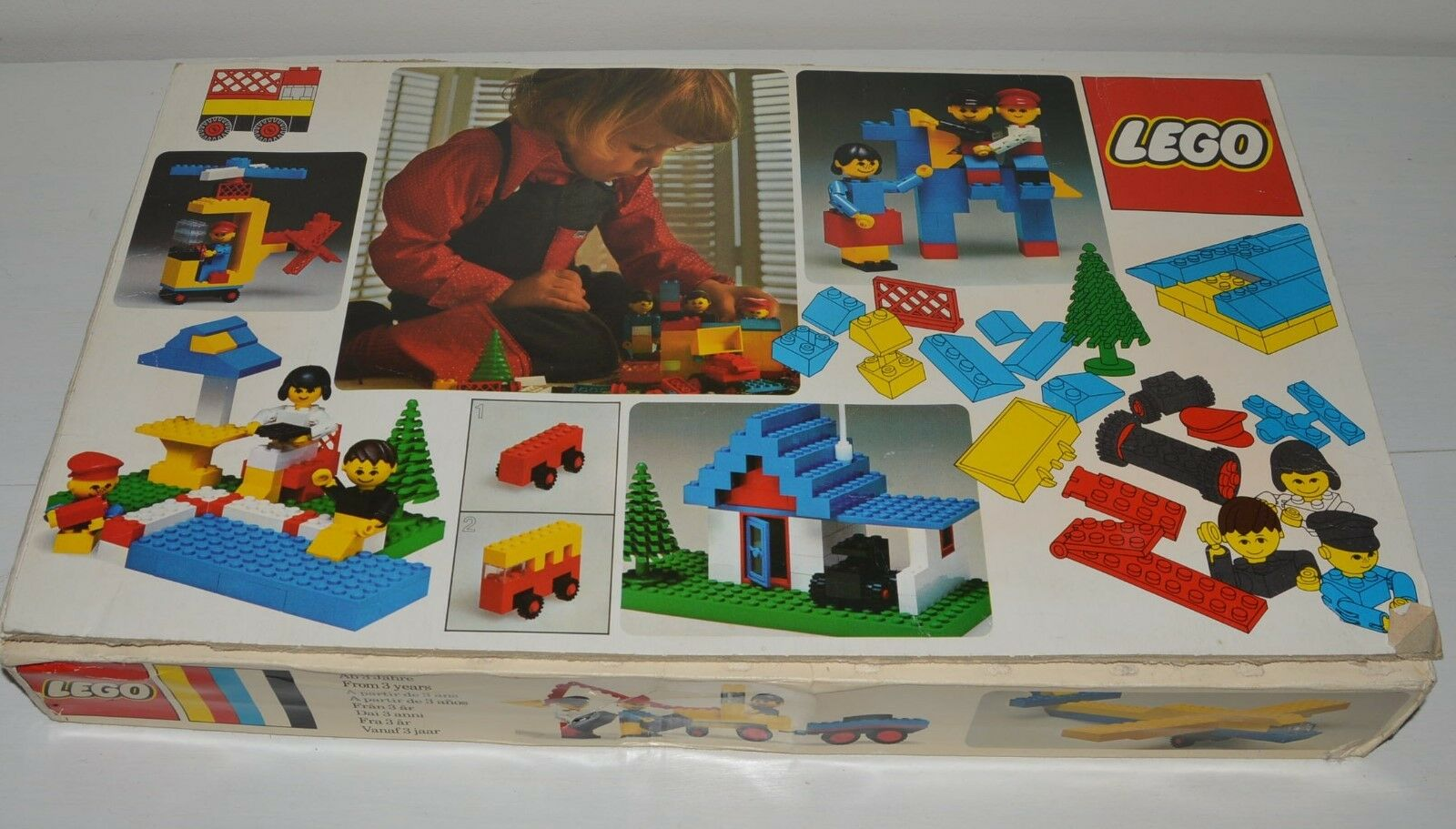 Ancien Jouet construction LEGO vintage boite N° 40