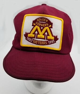 buy best good texture sale Vintage 1981 Minnesota Golden Gophers 100 years, 1882-1981 maroon ...