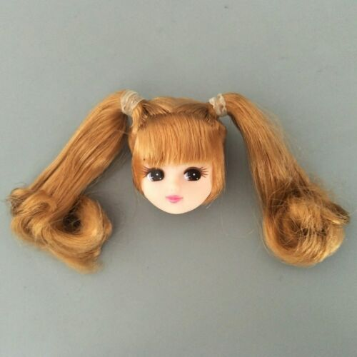 Kids Toy Pretty Doll Head /& 12 Joints Movable BJD Doll Body For Licca Doll 1//6