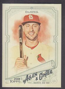 Topps-Allen-amp-Ginter-2018-Base-278-Paul-DeJong-St-Louis-Cardinals