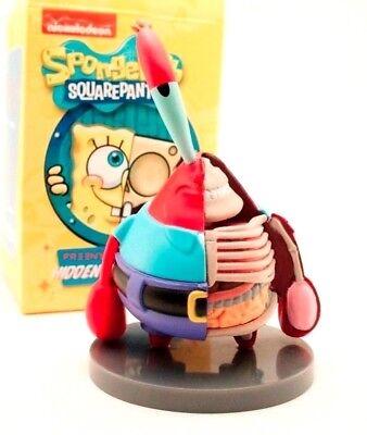 "Jason Freeny Nickelodeon 3/"" Sandy Hidden Dissectibles Spongebob XXRay Art"