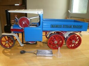 mamod steam wagon sw1, 6 wheeler special
