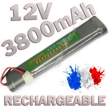 PACK BATTERIE 12V 3800MAH ACCU BATTERY RECHARGEABLE TAMIYA RC GRANDE CAPACITE