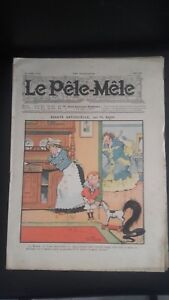 REVUE-PELE-MELE-N-18-JOURNAL-HEBDOMADAIRE-HUMORISTIQUE-1906-ABE