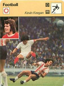 """FICHE CARD: Kevin Keegan England Forward Manager Entraîneur FOOTBALL 1970s - France - Jeux Olympique Olympic GamesPORT EUROPE GRATUIT A PARTIR DE 4 OBJETSBUY 4 ITEMS AND EUROPE SHIPPING IS FREE FICHE FRANCE ANNEES 70s Attaquant ETAT VOIR PHOTO FORMAT 16 CM X 12 CM SIZE : 6.29 """" X 4.72 """" inch FICHE SPORT FOOTBALL.8 - France"""