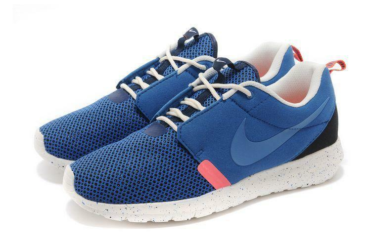 Scarpe casual da uomo  Nike Rosherun NMBR Shoes (9) Military Blue