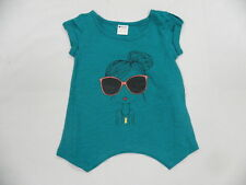 Roxy Kids Sz 5 Shirts Tops Beach Stroll Green