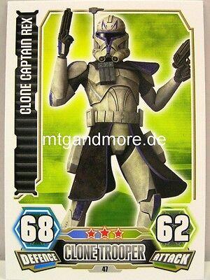 Force Attax Serie 2 Clone Senate Riot Trooper #047