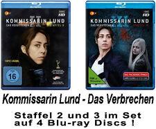 6 Blu-rays * KOMMISSARIN LUND - DAS VERBRECHEN - STAFFEL 2 + 3 IM SET # NEU OVP