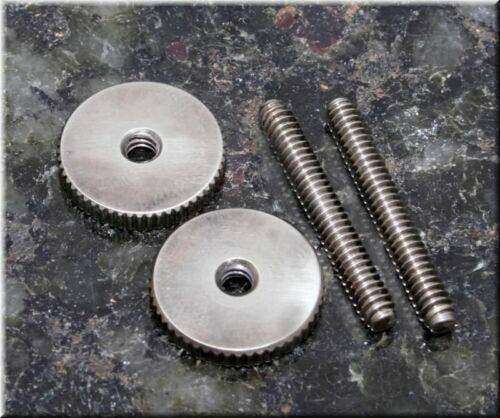 Faber ST-INA pair ,nickel,aged STI-NA /'59 ABR Studs//Thumbwheel Kit 6-32 Inch