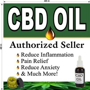 CBD-OIL-AUTHORIZED-SELLER-CHOOSE-YOUR-POSTER-SIZE-PERF-WINDOW-VINYL-DECAL-NEW