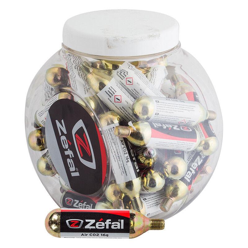Zefal Threaded Co2 Cartridges Pump Zefal Co2 Cart 16g Thrd Bxof50