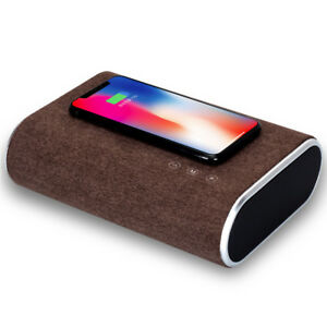 Qi-Wireless-Charger-Bluetooth-Speaker-Bass-Music-Player-For-iPhone-X-10-Samsung