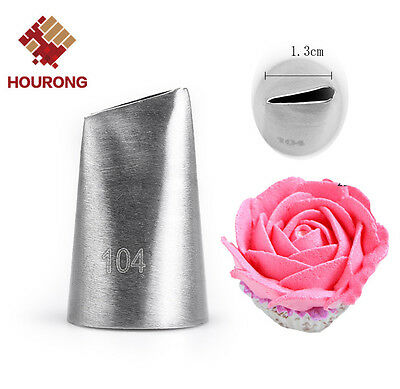 Stainless Steel Icing Piping Nozzles Cake Cupcake Decor Pastry Puff Cream Tips