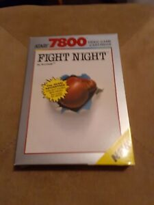 Fight-Night-for-Atari-7800-1988-CIB-FREE-SHIPPING