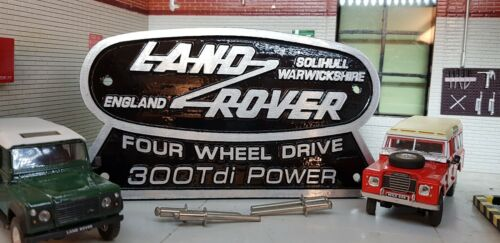 Land Rover Defender Series 300TDi Conversion Cast Tub Station Wagon Badge 90 110