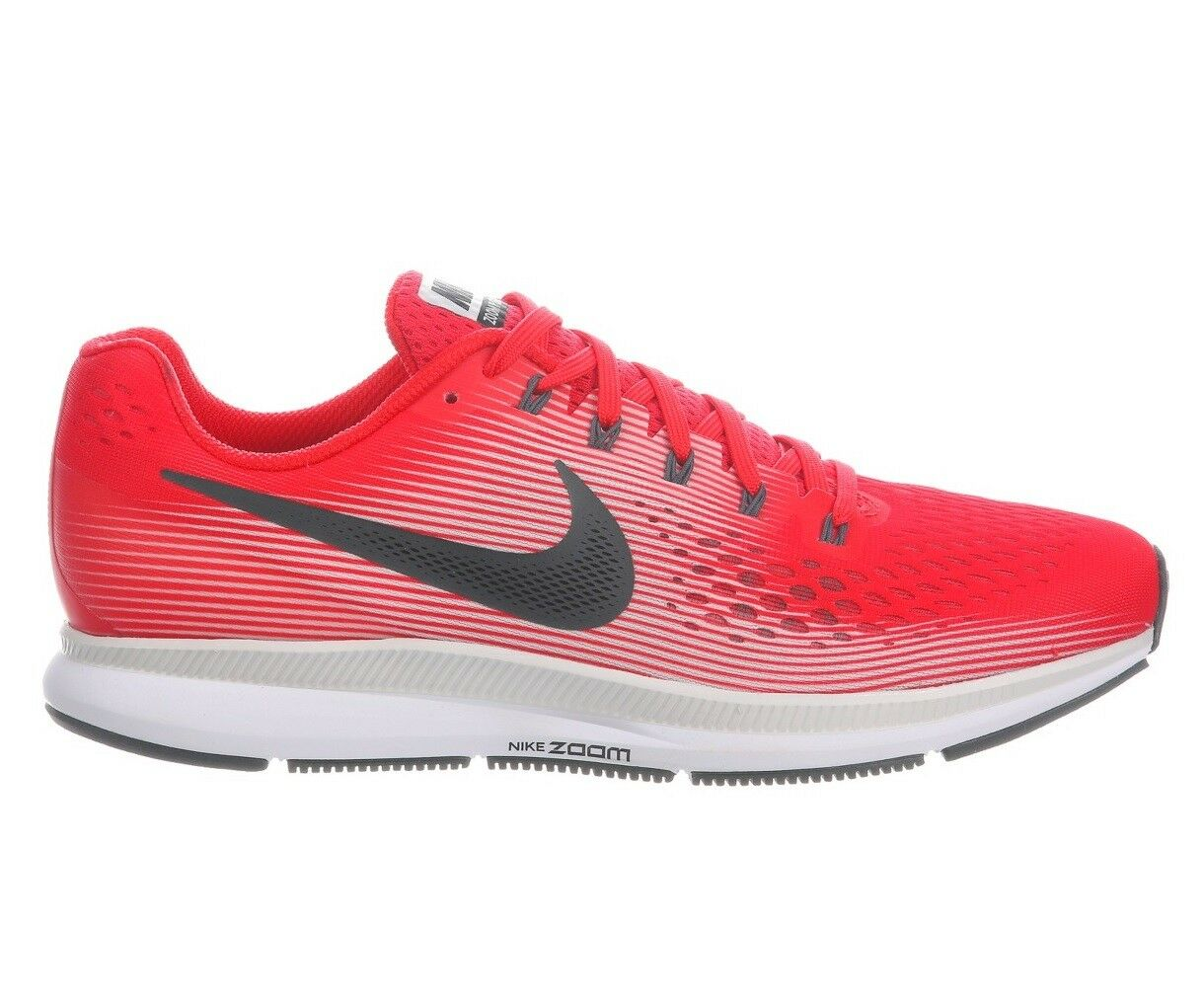 Nike Air Zoom Pegasus 34 Mens 880555-602 Speed Red Mesh Running shoes Size 9.5
