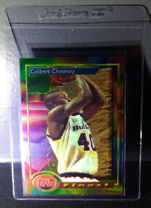 1993-94-Topps-Finest-Calbert-Cheaney-84-Rookie-Basketball-Card