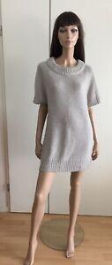 Robe Pull Zara gris taille M