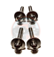 Ships Free Jeep JK Wrangler Mirror Hinge Bolts 8 Piece Stainless Set