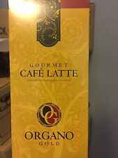 1 BOX ORGANO GOLD Cafe LATTE INSTANT COFFEE 100% ORGANIC  GANODERMA