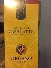 1 BOX ORGANO GOLD Cafe LATTE INSTANT COFFEE 100% ORGANIC  GANODERMA