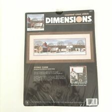 Dimensions Counted Cross Stitch Kit,Autumn Lane,1998,Sealed,Katz,MPN 3654