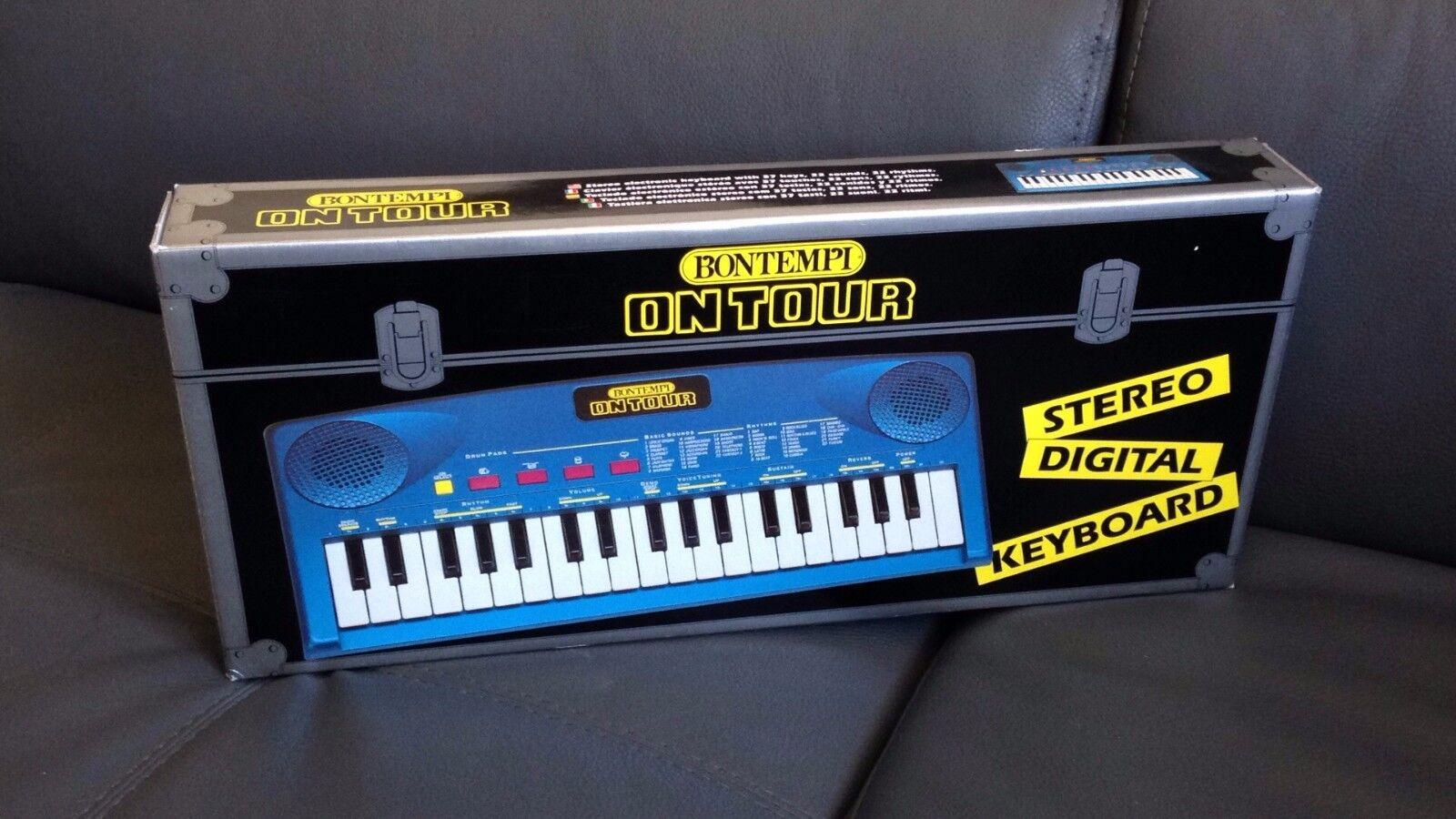 KEYBOARD pianola DIGITAL 37 KEYS KEYS DIGITAL STEREO KEYBOARD BONTEMPI ON TOUR